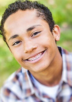 get straight teeth with ceramic braces Brady TX and Burnet